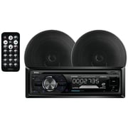 Boss Audio Single-din In-dash AM/FM/CD Receiver System With Bluetooth & Speakers
