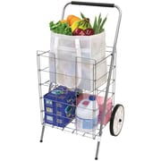 Helping Hand Fq3915d 2-wheel Folding Cart With Folding Shelf