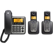 Motorola Dect 6.0 3-handset Digital Cordless/corded Phone System With Answering Machine