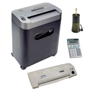 The Royal 112MX 12-Sheet Crosscut Shredder Kit
