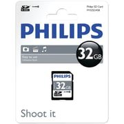 Philips Fm32SD45b/27 SDHC Card (32gb, Class 10)