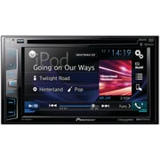 "Pioneer 6.2"" Double-din In-dash DVD Receiver With Bluetooth®, Siri® Eyes Free, Siriusxm® Ready, Spotify® & Appradio One"