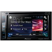 "Pioneer 6.2"" Double-din In-dash DVD Receiver With Bluetooth®, Siri® Eyes Free, Siriusxm® Ready, HD Radio, Spotify®"