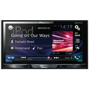 "Pioneer 7"" Double-din In-dash DVD Receiver With Motorized Display, Bluetooth®, Siri® Eyes Free"