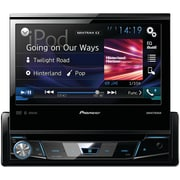 "Pioneer 7"" Single-din In-dash DVD Receiver With Flip-out Display, Bluetooth®, Siri® Eyes Free, Spotify® & Appradio One"