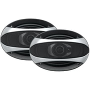"Power Acoustik Gothic Series Coaxial Speakers (6"" X 9"", 3 Way, 500 Watts)"