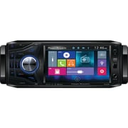 "Power Acoustik 4.5"" Single-din In-dash Oversized & Detachable LCD Touchscreen DVD Receiver With Bluetooth®"
