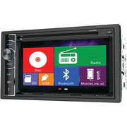 "Power Acoustik 6.2"" Double-din In-dash LCD Touchscreen DVD Receiver With Bluetooth® & Mhl® Mobilelink X2"