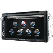 "Power Acoustik 6.5"" Double-din In-dash LCD Touchscreen DVD Receiver (with Bluetooth®)"