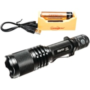 Powertac 1,050-lumen Warrior Flashlight (with Rechargeable Kit)
