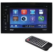 "Pyle 6.5"" Double-din In-dash LCD Touchscreen DVD Receiver With Bluetooth®, Usb Flash & Sd Card Inputs"