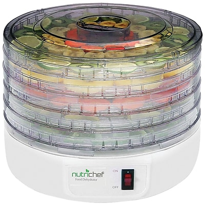 Pyle Home Nutrichef Electric Countertop Food Dehydrator food Preserver