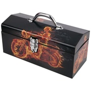 "Sainty Ghost Rider Motorcycle 16"" Tool Box"