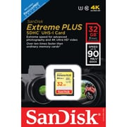 Sandisk SDSDxsf-032g-ancin Extreme® Plus SDHC Memory Card (32gb)