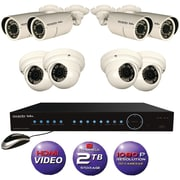 Security Labs 8-camera 1080p HD POE-IP 2TB Surveillace System