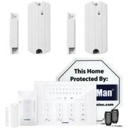Securityman Air-alarmiie Smart Alarm Kit & Two Sm-87l Door/windowsensors