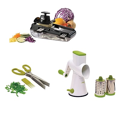 Starfrit Must Have Gadgets Herb Scissors Mandoline Drum Grater!