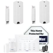 Security Man Alarm Economy Kit W/ Two Packs Of Wireless Sensors