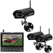 Security Man Cameras Lcd/dvr System W/ Camera With Night Vision