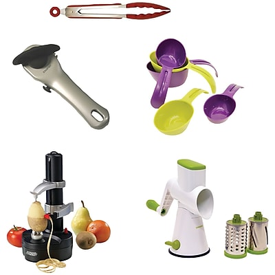 Deals Starfrit Gadget Kit With Rotato Express, Tongs, Can Opener, Measuring Cups, Drum Before Special Offer Ends