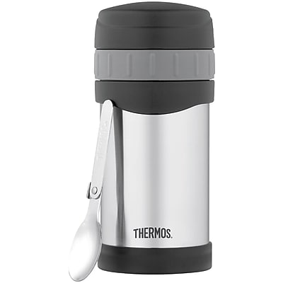 Thermos Stainless Steel Food Jar With Spoon 16oz