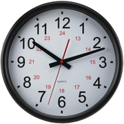 "Timekeeper 14"" 24-hour Wall Clock"
