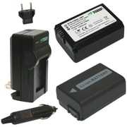 WASABI POWER KIT-BTR-FW50-LCH-FW50 Sony® NP-FW50 Battery 2-Pack & Charger