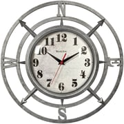 "Westclox 14"" Round Compass Wall Clock"