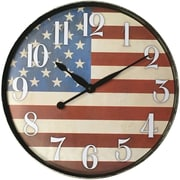 "Westclox 12"" American Flag Wall Clock"