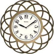 "Westclox 14"" Spiral Wall Clock"