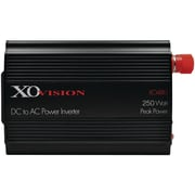 Xovision 480 DC To AC Power Inverter With 2 Outlets (black)