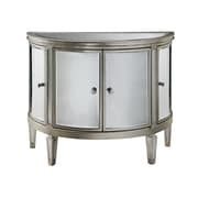 "Stein World Halton 32-5/8"" Accent Chest Antique Silver/Mirrors (12518)"