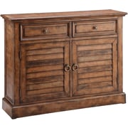 "Stein World Theodore 35"" Accent Cabinet, Weathered Brown (12630)"