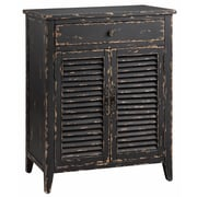 "Panama Jack Halcyon 38.25"" Accent Cabinet, Midnight Satin (13141)"