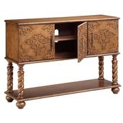 """Stein World Corvallis 35.25"""" Accent Cabinet, Warm Brown (13191)"""