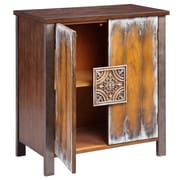 "Stein World Jamison 33.25"" Accent Cabinet, Antique Brown (13247)"