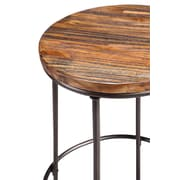 Stein World Gratton Accent Stool Antique Brown (13256)
