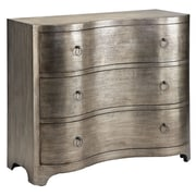 "Stein World Greybeau 35.5"" Accent Chest Ttextured Pewter Metallic (28304)"