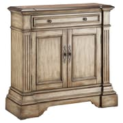 "Stein World Gentry 34.5"" Accent Cabinet, Antique Dusty Linen (28336)"
