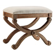 Stein World Sinclair Accent Stool Antique Drift Wood (47539)