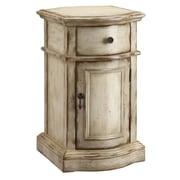"Stein World Heidi 25"" Accent Cabinet, Brown, Antique White (57272)"