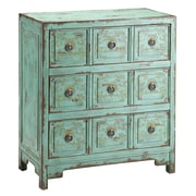 "Stein World Anna 31"" Accent Chest Vintage Green (57295)"