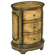 Stein World Dover  Accent Table, Antique Green, Brown (64166)