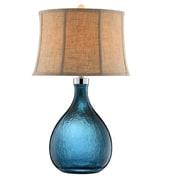 Stein World 150 Watt Ariga Table Lamp, Peacock Blue (99691)
