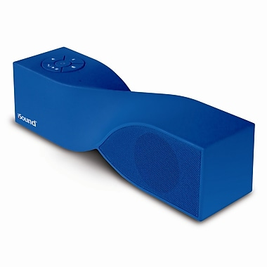 Twist – Mini haut-parleur BluetoothMD portatif, bleu