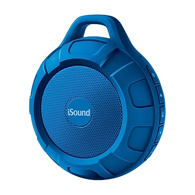 Water Resistant Bluetooth Speaker, Blue