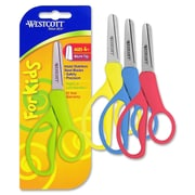 "Westcott 13131 Pointed Tip 5"" Kid's Scissors, Assorted"
