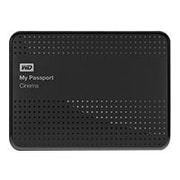 Western Digital  Cinema 1TB USB 3.0 4K UHD Movie Storage External Hard Drive, Classic Black (WDBZKS0010BBK-NESN)