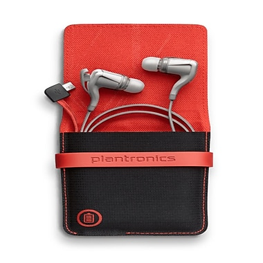 Plantronics - Écouteurs sans fil BackBeat Go 2/R avec étui, blanc
