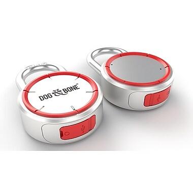 Dog & Bone – Cadenas Bluetooth sans clé DAB-LS001 LockSmart, argent